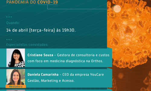 WEBINAR DB |Gestão de negócios em saúde durante a pandemia COVID-19