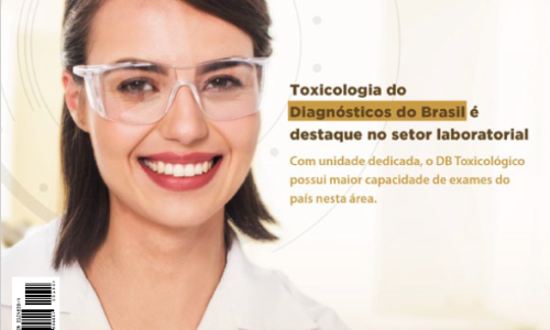 Capa da NewsLab: Toxicologia do Diagnósticos do Brasil é destaque no setor laboratorial