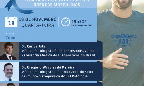 Webinar DB |A importância da medicina laboratorial na prevenção do câncer de próstata e outras doenças masculinas