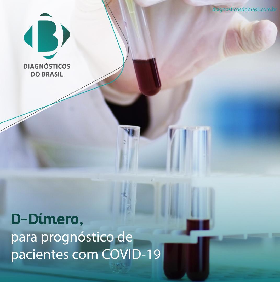 Aplicação clínica para dosagem de D-Dímero na COVID-19  | Diagnósticos do Brasil