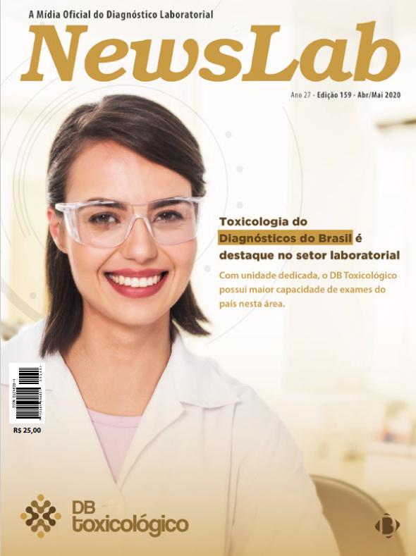 Capa da NewsLab: Toxicologia do Diagnósticos do Brasil é destaque no setor laboratorial | Diagnósticos do Brasil
