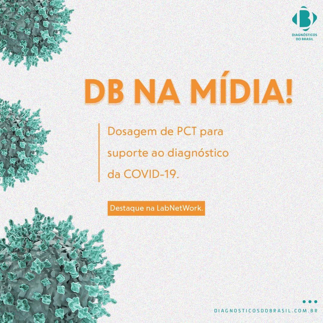 Aula inédita mostra aspectos clínicos e laboratoriais sobre o uso da procalcitonina no diagnóstico de Covid-19 | Diagnósticos do Brasil