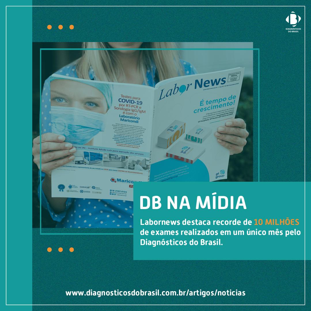 DIAGNÓSTICOS DO BRASIL MARCA 10 MILHÕES DE EXAMES EM UM ÚNICO MÊS | Diagnósticos do Brasil