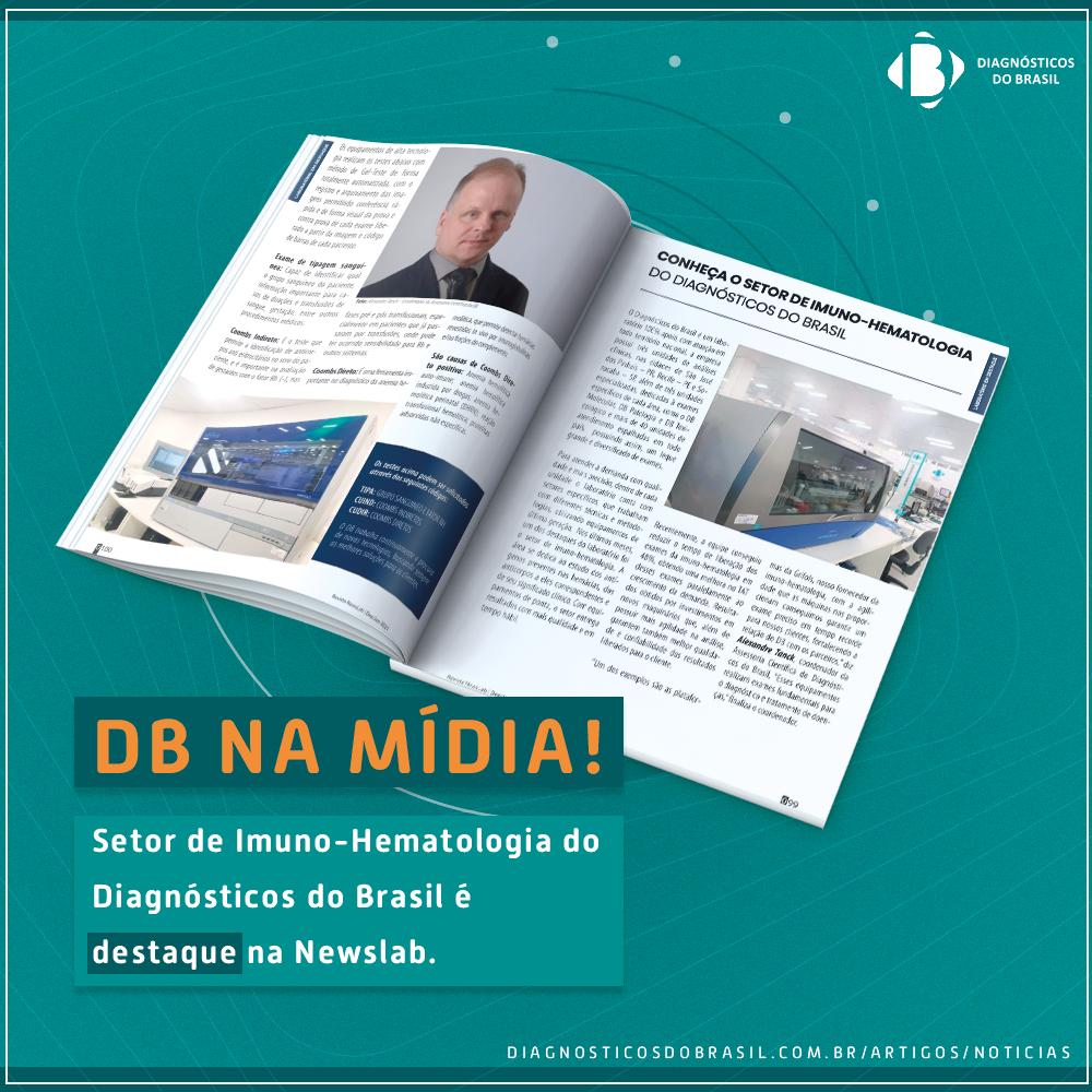 CONHEÇA O SETOR DE IMUNO-HEMATOLOGIA DO DIAGNÓSTICOS DO BRASIL | Diagnósticos do Brasil