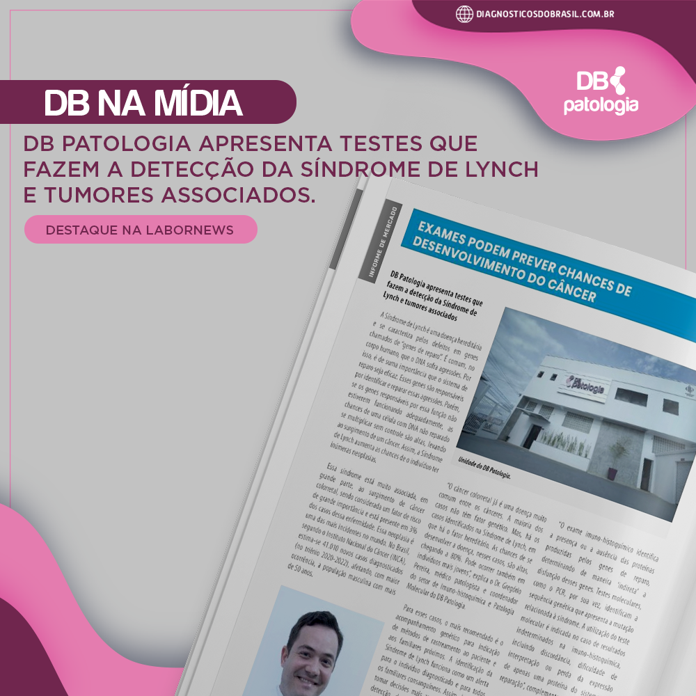 EXAMES PODEM PREVER CHANCES DE DESENVOLVIMENTO DO CÂNCER   Diagnósticos do Brasil