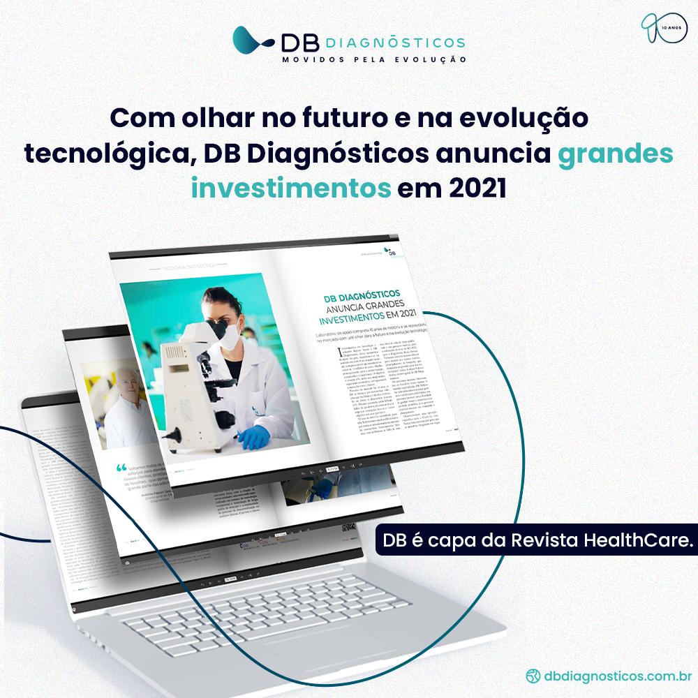 DB DIAGNÓSTICOS ANUNCIA GRANDES INVESTIMENTOS EM 2021 | Diagnósticos do Brasil