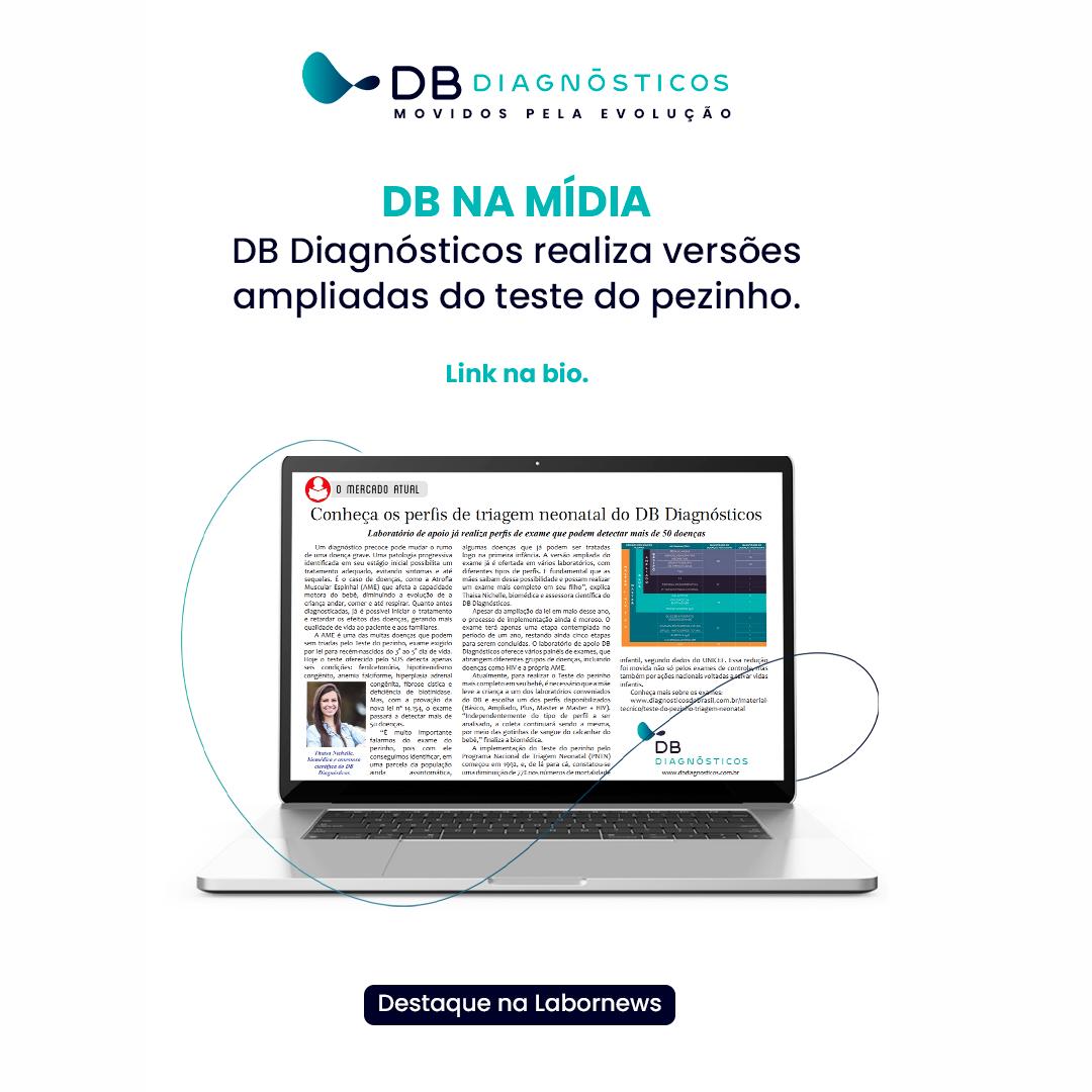 CONHEÇA OS PERFIS DE TRIAGEM NEONATAL DO DB DIAGNÓSTICOS | Diagnósticos do Brasil