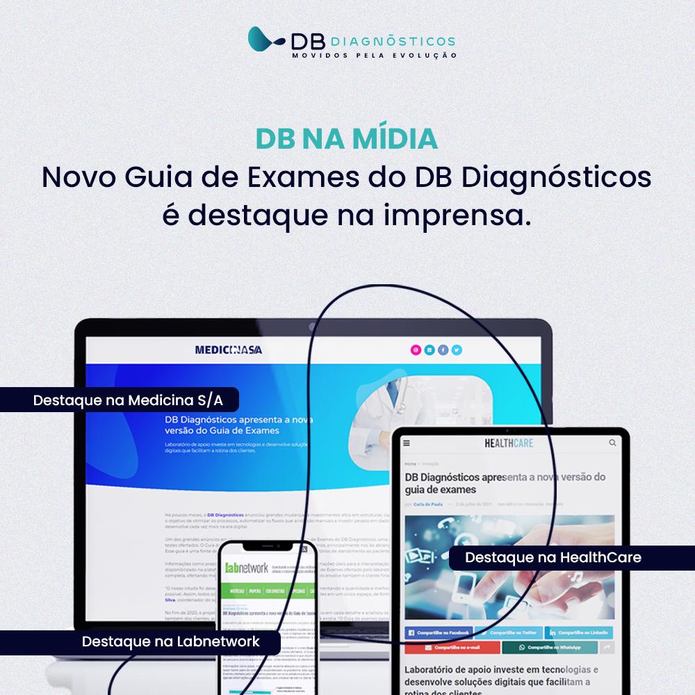 DB DIAGNÓSTICOS APRESENTA A NOVA VERSÃO DO GUIA DE EXAMES | Diagnósticos do Brasil
