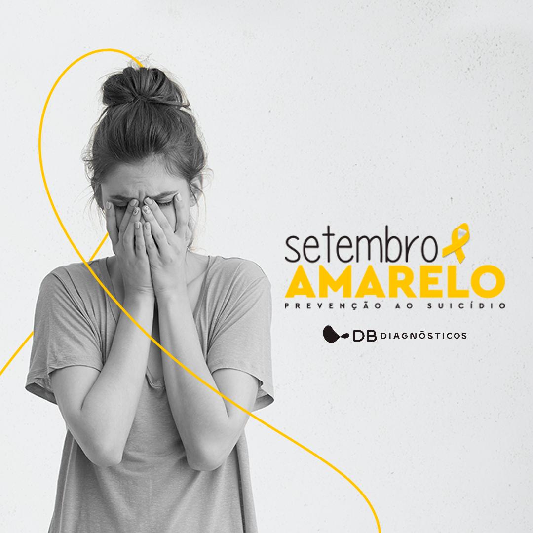 SETEMBRO AMARELO – FALAR SOBRE SUICÍDIO É PRECISO   Diagnósticos do Brasil